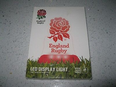 England Rugby Led Display Light. Ideal For Christmas Display Follow The Rose.rfu