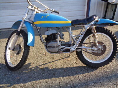 1973 Bultaco 1973 ALPINA 350  1973 BUTACO ALPINA 350 TRIALS BIKE  PROJECT BARN FIND LOOK WOW!!!!!