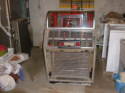 Vintage 1951 Seeburg M100B  Jukebox