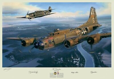 The Guardian A Higher Call Depiction of Franz Stigler Charlie Brown WWII B-17