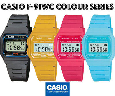CASIO F-91W-1Y⎪F-91WC-2AEF⎪F-91WC-4AEF⎪F-91WC-9AEF⎪ORIGINAL⎪CASIO Collection