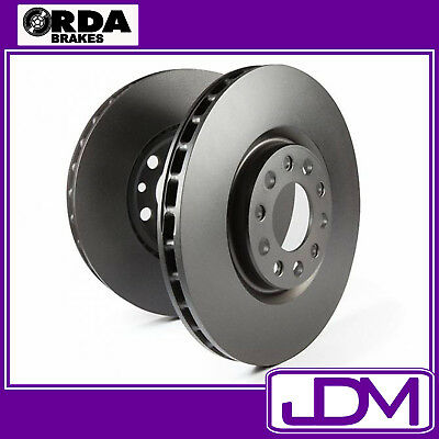 Rda Front Brake Disc Rotors - Holden Rodeo Tf R9 V6 2Wd/4Wd 1998-12/2002