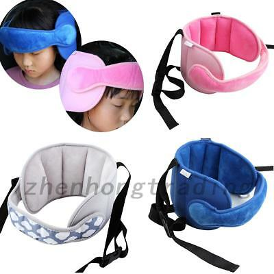 Baby Child Head Support Stroller Buggy Pram Car Seat Belt Sleep Strap Protector