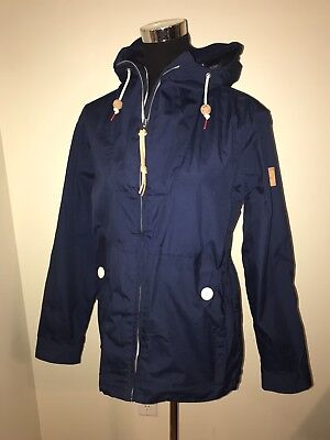 Men's Penfield 65/35 Hudson Wax Navy Blue Hooded Parka Size Small MINT