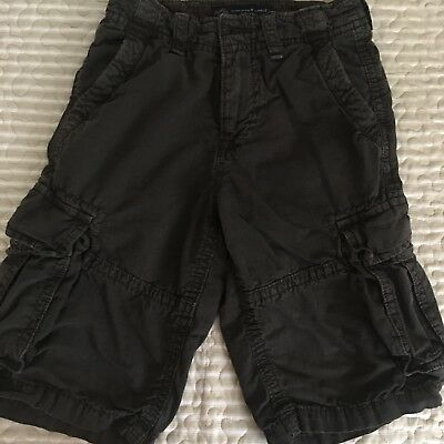 2dc88802 AMERICAN EAGLE Outfitters Longboard black 100% Cotton Shorts boys mens Size  26