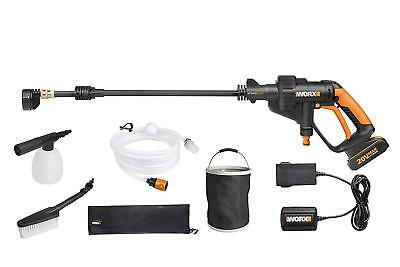 WORX 18V 20V MAX Cordless HYDROSHOT Portable Water Pressure Washer Power Cleaner