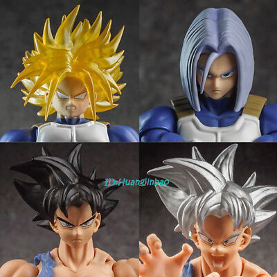 Dragon Ball Ultra Instinct Son Goku Head Sculpt Accessories Torankusu FitFor SHF