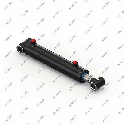 "1.5"" Bore, 6"" Stroke, Hydraulic Welded Cylinder - Cross Tube"