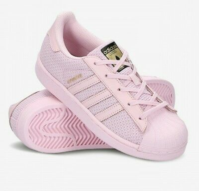 5de1208263c5 ADIDAS FILLE JUNIOR Superstar Baskets Noir Multi Neuf s74912 Taille ...