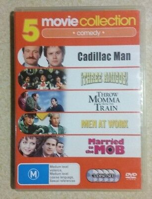 5 Movie Collection - Comedy (DVD, 2007)(5-Disc Set) 1980s COMEDY MOVIES/ R4
