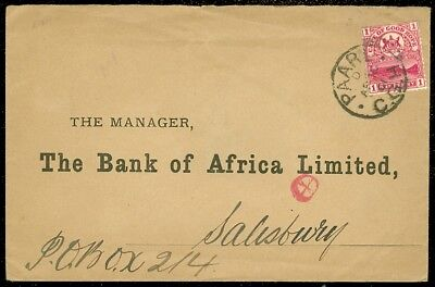 EDW1949SELL : CAPE OF GOOD HOPE Nice usage of single franking on 1901 cover.