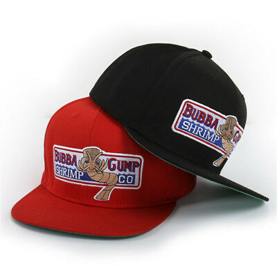 1994 Bubba Forest Gump Shrimp Co. Baseball Cap Embroidered Cosplay Snapback Hat