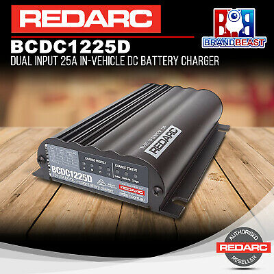 Peachy Redarc Bcdc1240D Dual Battery Isolator System Dc To Dc Solar Agm Wiring Cloud Hisonuggs Outletorg
