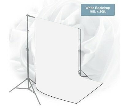 Craphy 3 x 3M Photography Backdrop Photo Background Studio Screen Stand Kit
