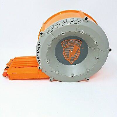 Nerf N-Strike Elite Dart Drum 35 Round Magazine Ammo Clip A0006 with 32 darts