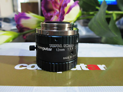1PC Computar M1214-MP2 12mm 1:1.4 Industrial Camera Lens#SS