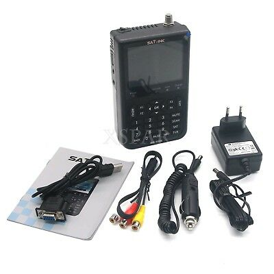 SATLINK WS-6906 Digital Satellite Signal Finder Meter 3.5''LCD DVB-S FTA Data X-