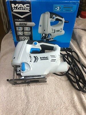 Mac Allister 600W 220-240V 3 Stage Pendulum Action Jigsaw With Laser Light