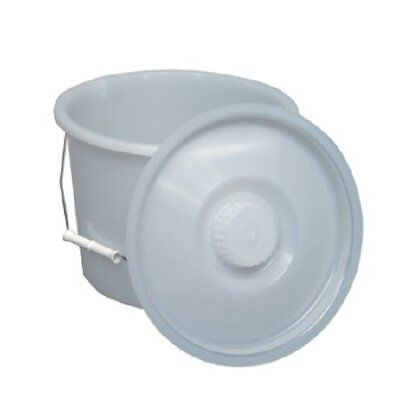 Mabis Commode Pail with Lid 6/CS