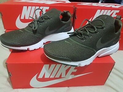 2a4618cb3dc3 Nike PRESTO FLY 908019 201 Mens Trainers Medium Olive green size s 7.5 - 9UK