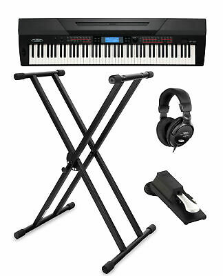 Piano Numerique Clavier Electronique Synthetiseur USB Set Support Pedale Casque