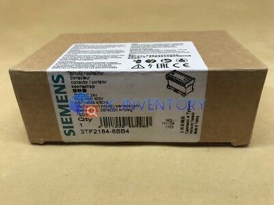 1PCS NEW For Siemens Contactor 3TF2184-8BB4 3TF21848BB4
