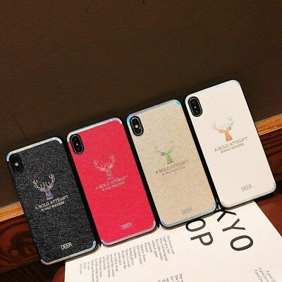 Fashion Pattern Silicone Shockproof Case Cover For  iPhone XS Max XR 7 8 Plus