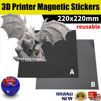 Magnetic Print Bed Tape Build Flex Plate Sticker 3D Printer 220/300mm AU Stock
