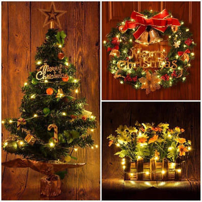 Copper Wire Wine Bottle Cork Battery Operated Fairy String Lights 4M 40LED AU