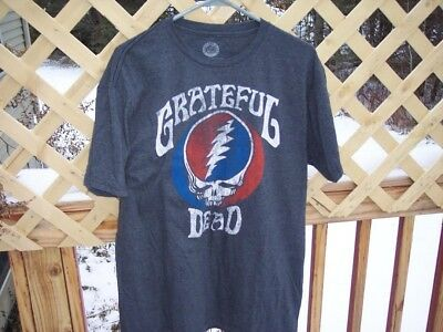 cool used grateful dead shirt t-shirt steal your face size large L