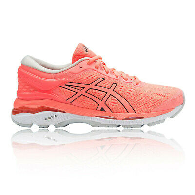more photos 83efd 64ddf Asics Gel-Kayano 24 Femmes Rose Support Running Chaussures De Sport Baskets