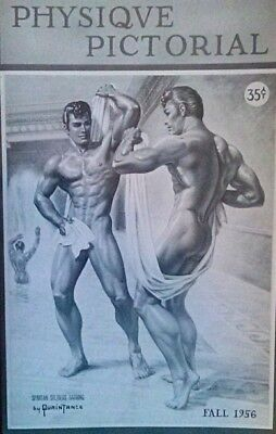 Physique Pictorial Fall 1956 gay interest magazine