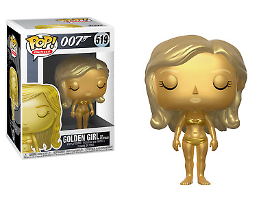 Funko Pop! Movies James Bond 007 519 Golden Girl from Goldfinger 10cm