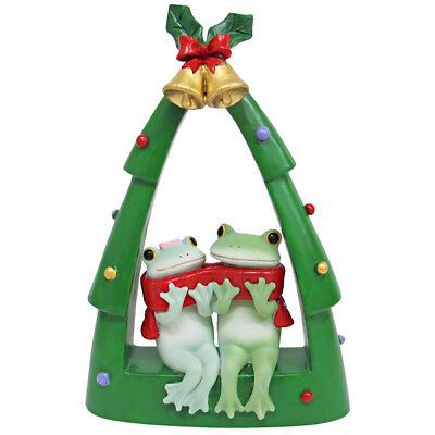 Copeau Christmas Frog Couple X'mas Tree Figurine New