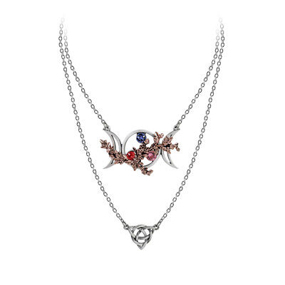 Wiccan Goddess Of Love Necklace - Alchemy Gothic Triquetra Jewellery P785