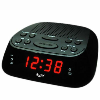 Bush Alarm Clock Radio AM/FM CR-07PL