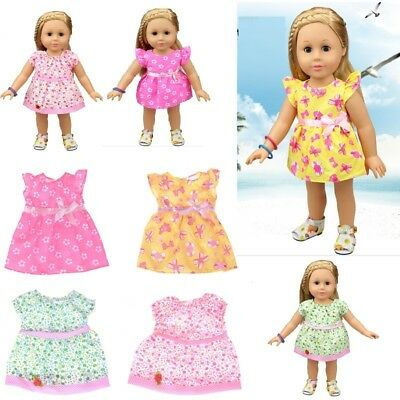 Lovely Doll Dress Clothes Fit 18 Inch  43cm Baby Born Zapf Dolls ZY