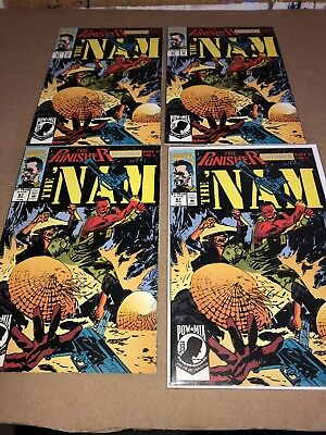 THE NAM #67 1992 THE PUNISHER NM COMBINED SHIPPING Lot Of 4