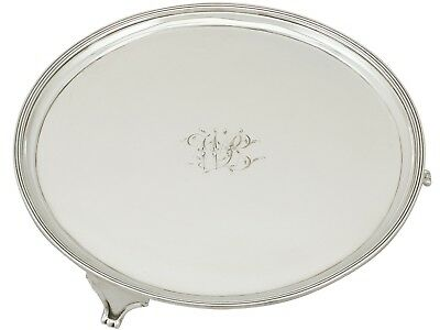 Sterling Silver Salver Made in York Antique George III Prince & Cattles 1806