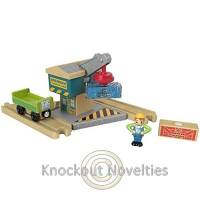Thomas And Friends: Wood Spin And Lift Crane Fun Play Learn Toy