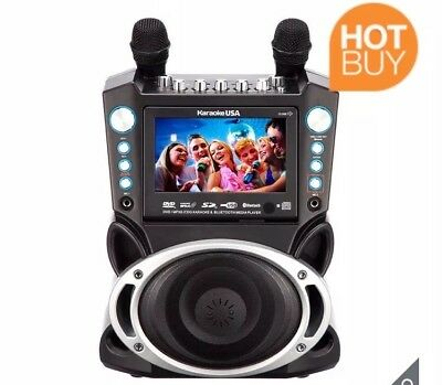 Multimedia Karaoke Machine with 7 Inch TFT Colour Screen and 2 Microphones