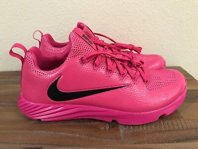 Nike Vapor Speed Football Lax Turf Shoes Pink 884799-606 Men's Size 13 New