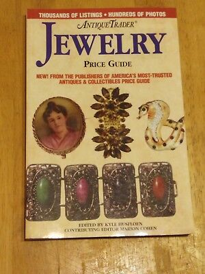 Antique Trader Jewelry Price Guide by Kyle Husfloen (2001, Paperback)