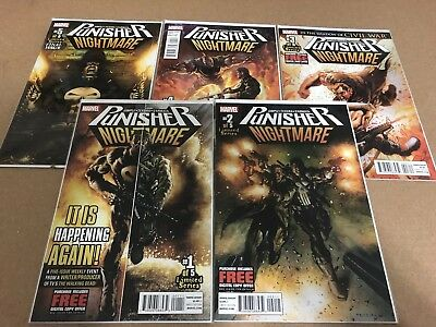The Punisher: Nightmare #1-5 (Complete)