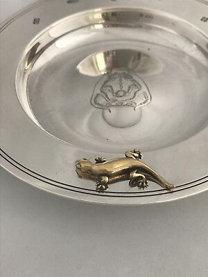 Stunning Sterling Silver GUILD OF IRONMONGERS 2000 Sheffield Armada Dish