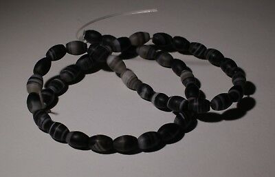 Ancient Agate Bead Necklace - Circa 2Nd Century Ad - No Reserve! 01