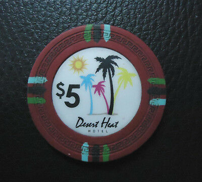 USA CHIP Casino Desert Heat Hotel, US$5