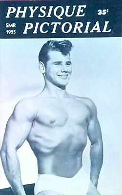 Physique Pictorial Summer 1955 vintage Gay magazine