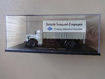 Schuco Modell 1:43 - Mercedes-Benz L 6600 Deutsche Transport Compagnie in OVP