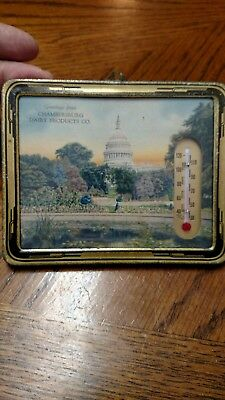 Vintage Advertising thermometer Chambersburg Dairy Products Co. Greencastle, PA.